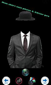 pro shirt suit photo & Editor poster