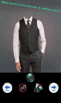 pro shirt suit photo & Editor screenshot 1