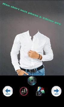pro shirt suit photo & Editor screenshot 2