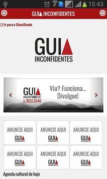 Guia Inconfidentes APP poster