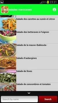 salades marocaines 2015 apk screenshot