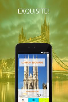 London Escapade Travel poster