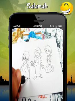 anime drawing learning lesson apk screenshot