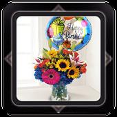 birthday flowers ideas icon