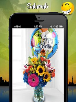 birthday flowers ideas apk screenshot