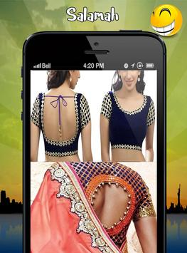 blouse neck designs screenshot 4