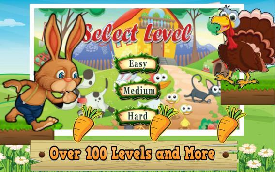 Bunny Farm Adventure screenshot 1