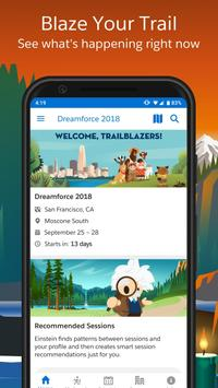 Salesforce Events poster