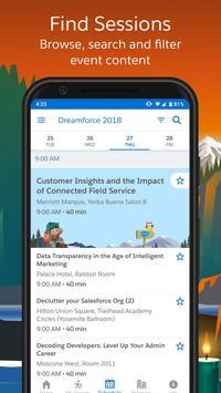 Salesforce Events screenshot 2