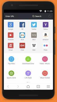 Fast UC Browser 2017 Tips poster