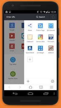 Fast UC Browser 2017 Tips apk screenshot