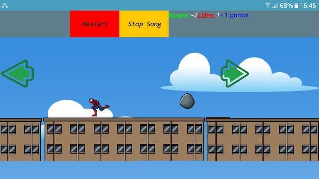spidermanRun screenshot 2