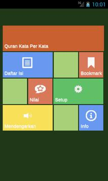 Quran Kata Per Kata poster