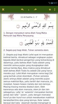 Quran Kata Per Kata apk screenshot