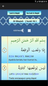1 Schermata Surah Al-Waqiah