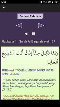 40 Rabbana dari Al-Quran screenshot 1