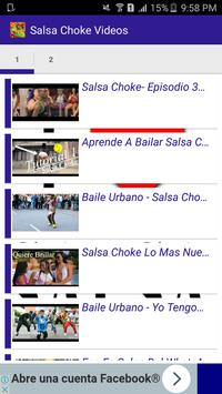 Salsa Choke Videos screenshot 1