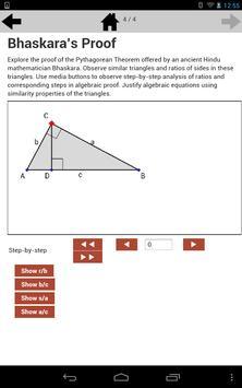 Pythagorean Theorem 8.G.6 apk screenshot