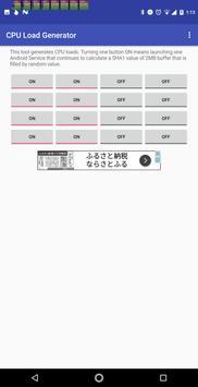 CPU Load Generator imagem de tela 1