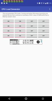 CPU Load Generator imagem de tela 2
