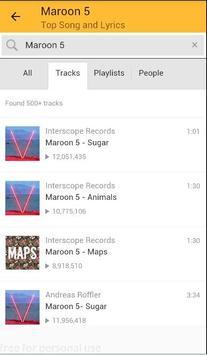 Maroon 5 Top Songs and Lyrics What Lovers Do screenshot 3