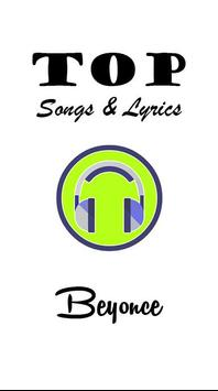 Beyonce Top Songs and Lyrics poster