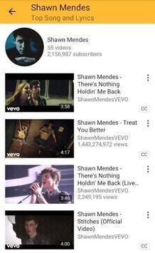Shawn Mendes Top Songs and Lyrics screenshot 4