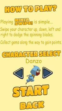 Ninja Swipe! apk screenshot