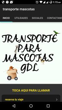 PET'S MOVE calidad en transporte para mascotas poster