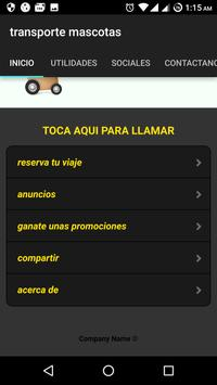PET'S MOVE calidad en transporte para mascotas screenshot 2