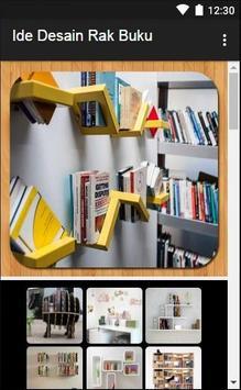 Ide Desain Rak Buku apk screenshot