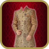Men Salwar Kameez Photo Editor icon