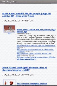 TopNEWS (India) apk screenshot