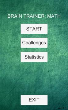 Brain trainer: math screenshot 3