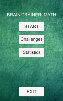 Brain trainer: math screenshot 6