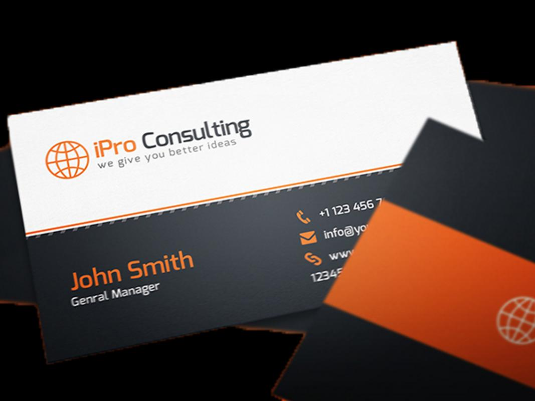 Business card pro apk download free business app for android business card pro apk screenshot reheart Images