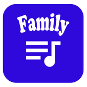 Offline family music player icon
