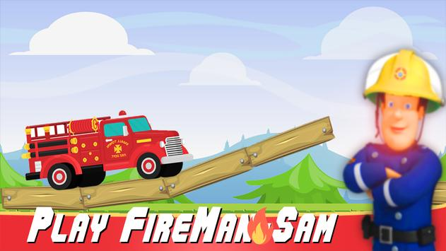 Sam Games Fireman Rescue poster