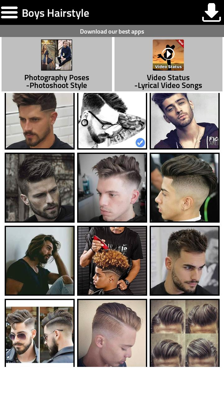 Boys New Hairstyle 2018 For Android Apk Download