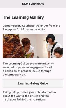 SAM Learning Gallery Guide poster