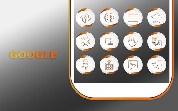 Neo Orange Icons Pack screenshot 8