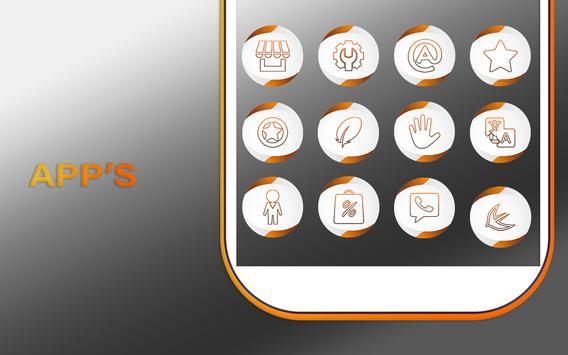 Neo Orange Icons Pack screenshot 9