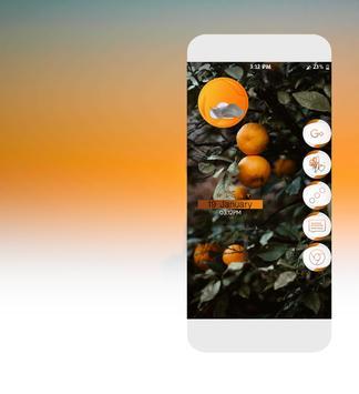 Neo Orange Icons Pack poster