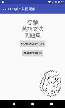 ハリTの英文法問題集 poster