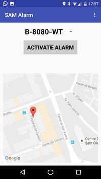 Alarm FREE Car Truck Motorbike poster