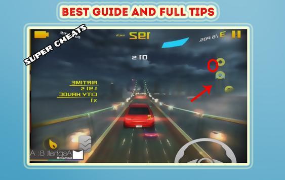 Cheats for Asphalt 8 Airborn screenshot 4