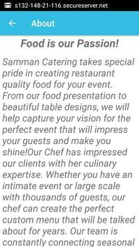 Samman Caterers apk screenshot