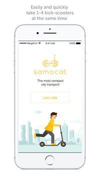 Samocat Sharing poster