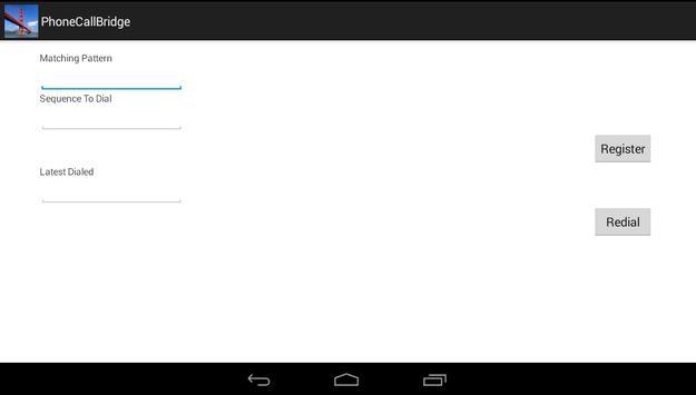 Phone Call Bridge (PCB) apk screenshot
