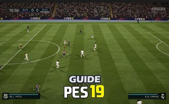 New PES 19 tips and tricks poster